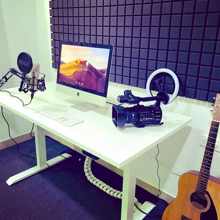 Sanket's Home Studio in 2020